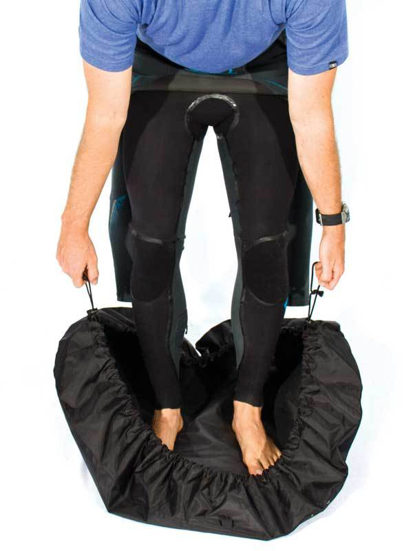 Deluxe Wetsuit Change Mat Black Stand Up Paddle Boards