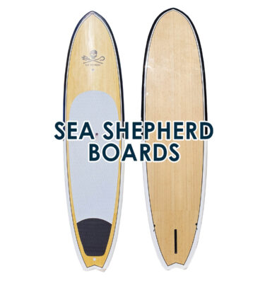 Sea Shepherd limited edition SUPS